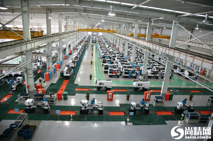 平床身数控车床装配生产线