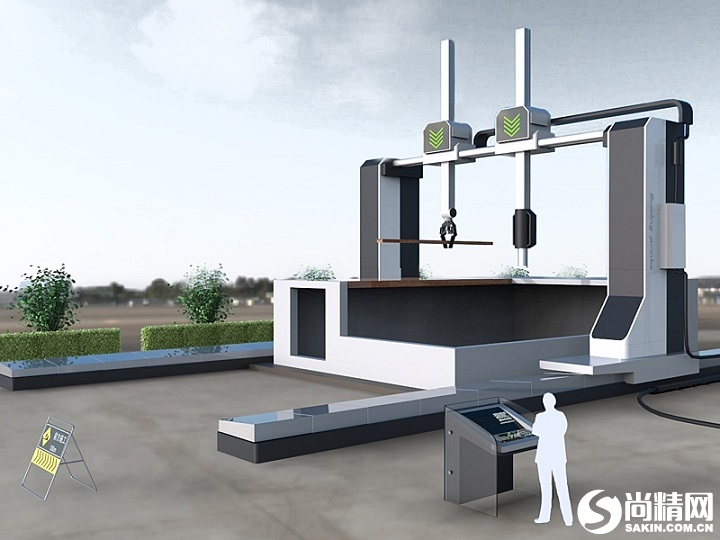 建筑用3D打印机