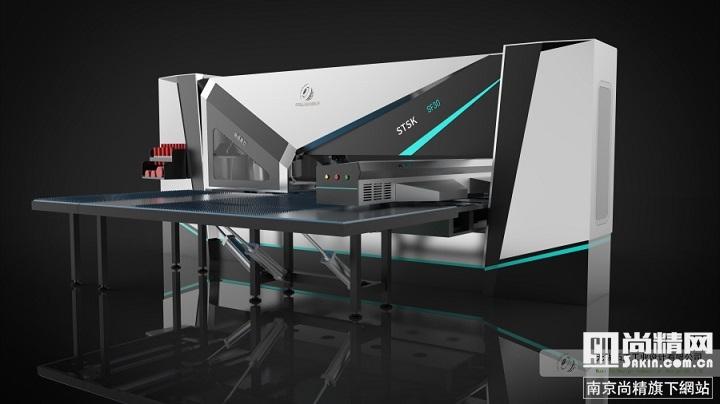 冲床机钣金外观设计方案